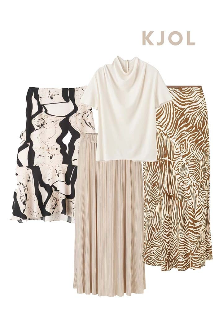 Voga Styling vad bära på studenfest 4 kjolar